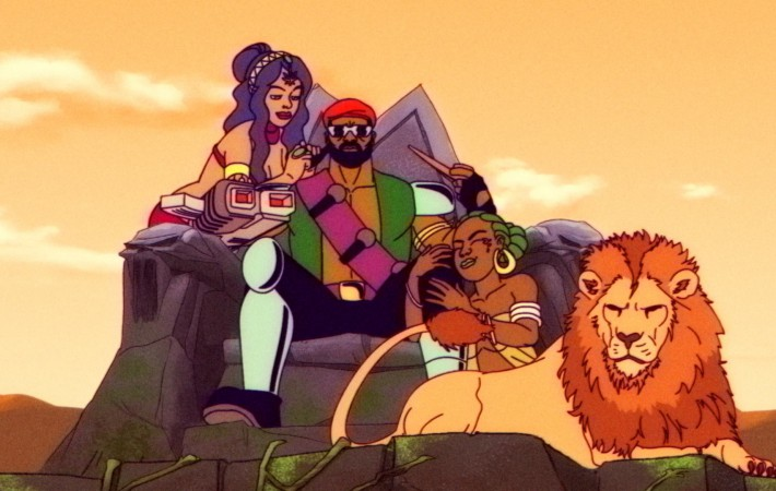 The first episode of the Major Lazer cartoon is out