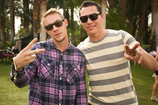 Diplo & Tiësto complement each other quite well (Seen on: youreedm.com)