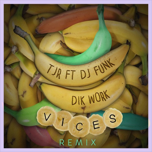 Bananas are a common theme in the original as well as the remix